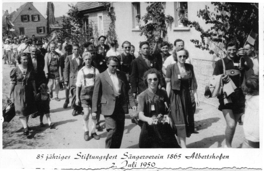 Sängerfest Albersthofen
