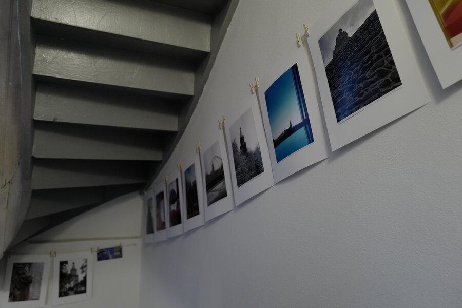 Impressionen von der Ausstellung im Cafe Sieben