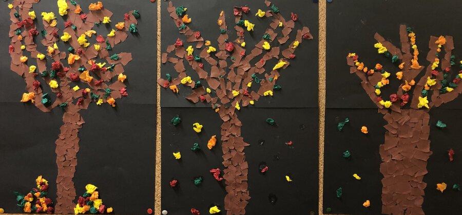 Mein Herbstbaum - Klasse 1.2