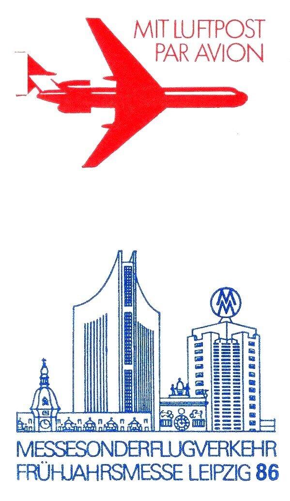 Luftpost Frühjahr 1986