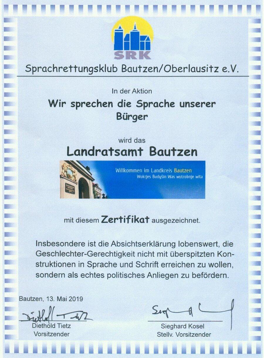 Zertifikat LRA