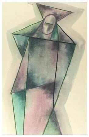 Weibliche Figur 1963