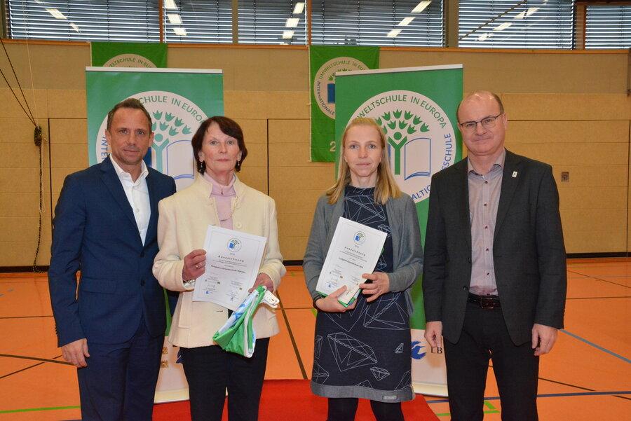 Auszeichnung zur Umweltschule