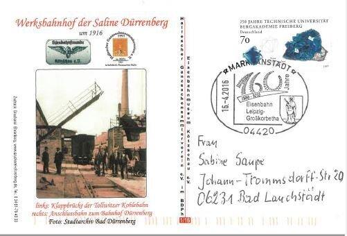 160 Jahre Eisenbahn Leipzig-Großkorbetha