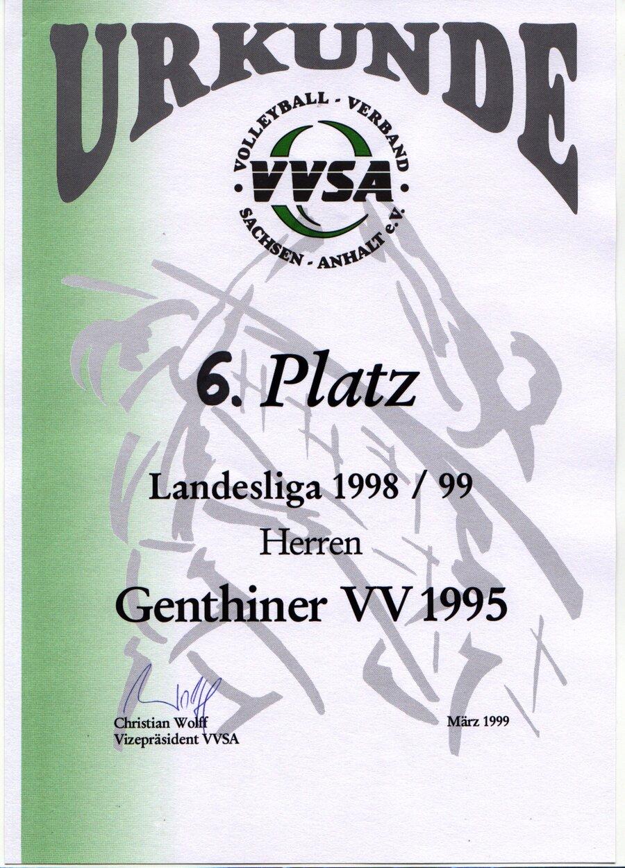 Urkunden 1999