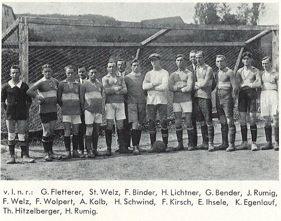 Mannschaft 1921