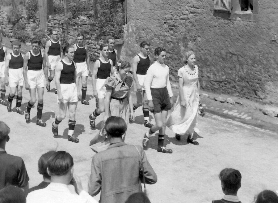 Umzug 1949
