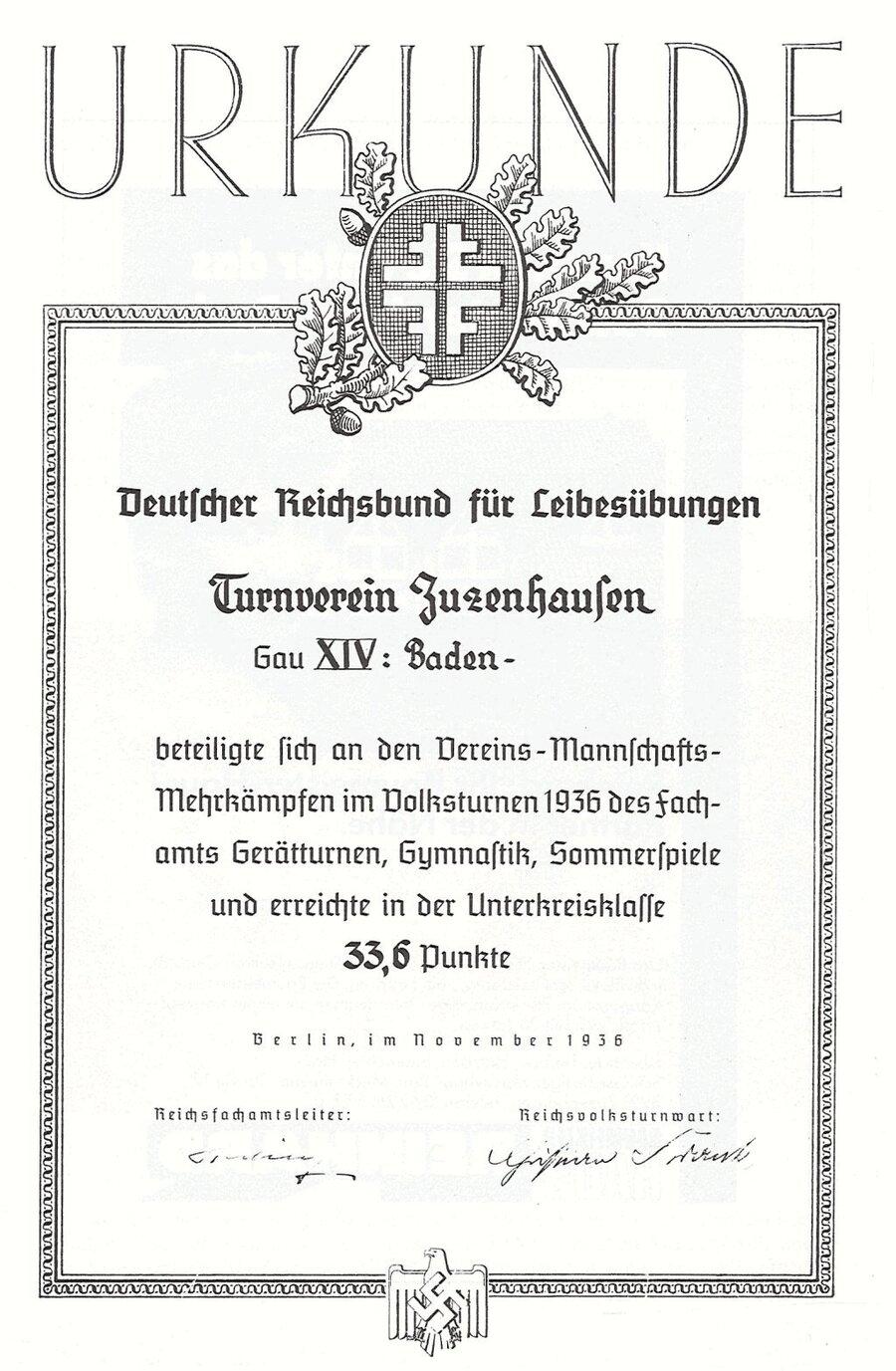 Urkunde_1936