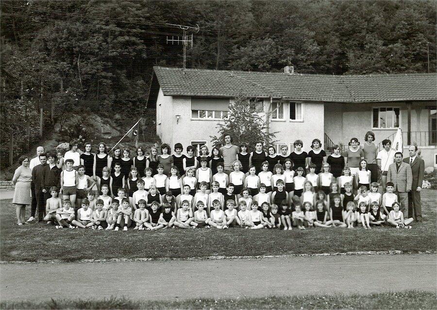Turnabteilung 1979