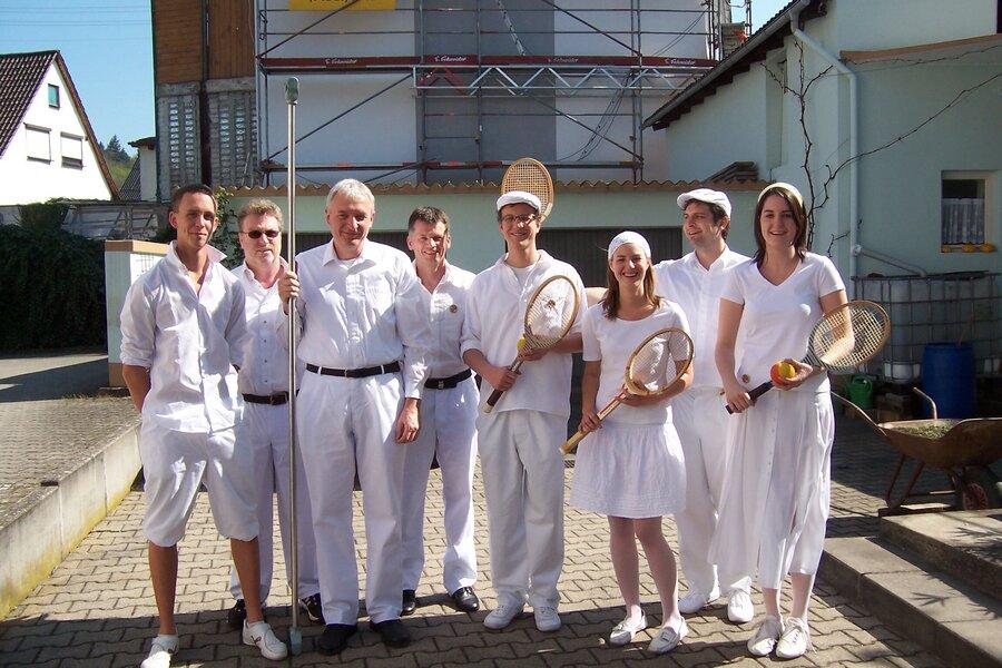 Dachsenfranzfest Tennisabteilung