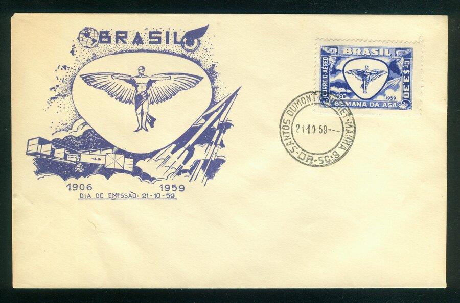 Brief Santos Dumont Brasilien