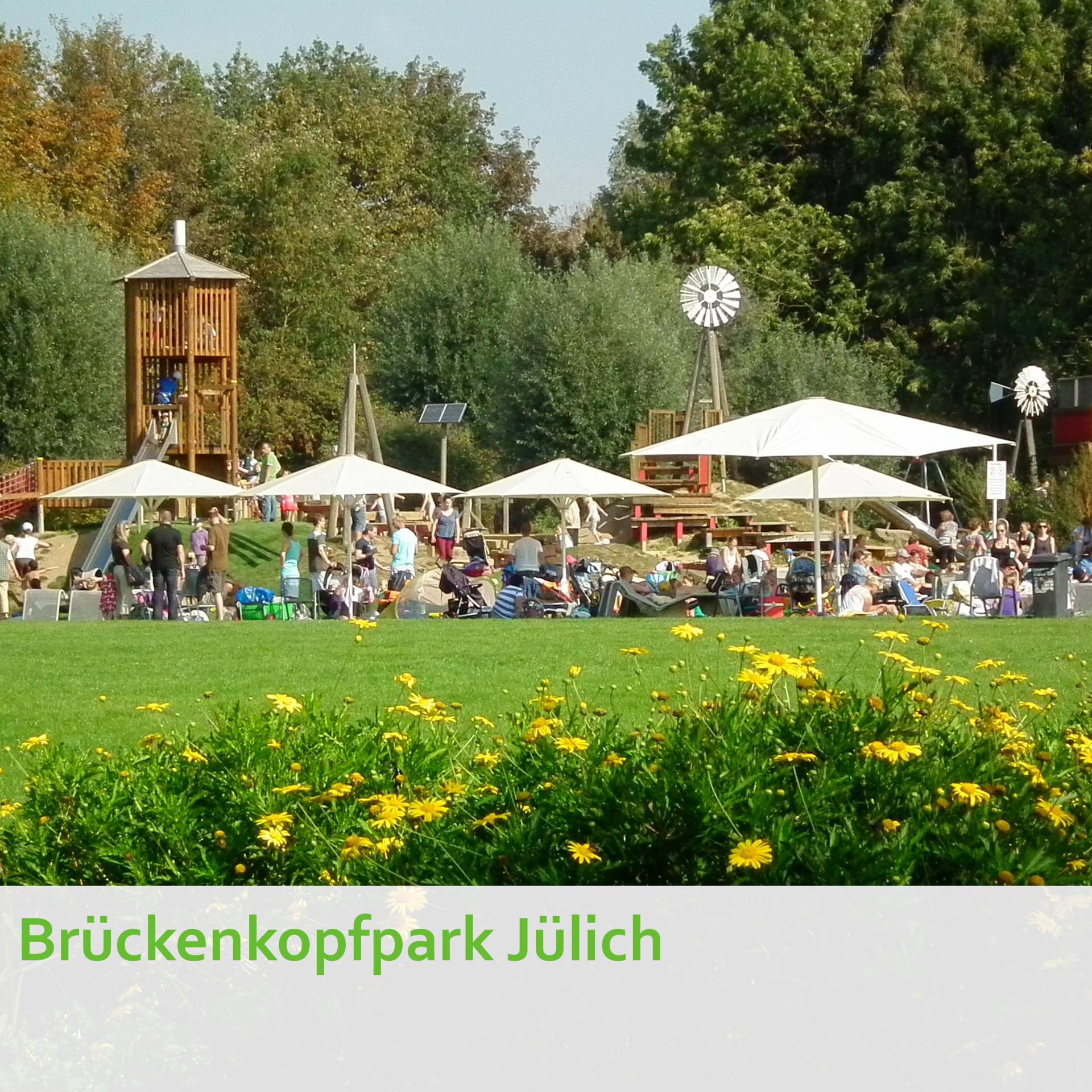Brückenkopfpark Jülich