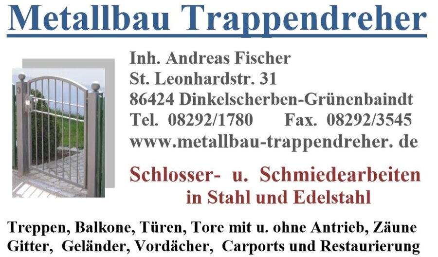 Metallbau Trappendreher