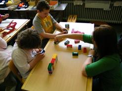 Lernen mit Legos