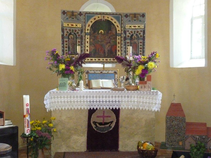 Kirche Rosenthal Altar 2014