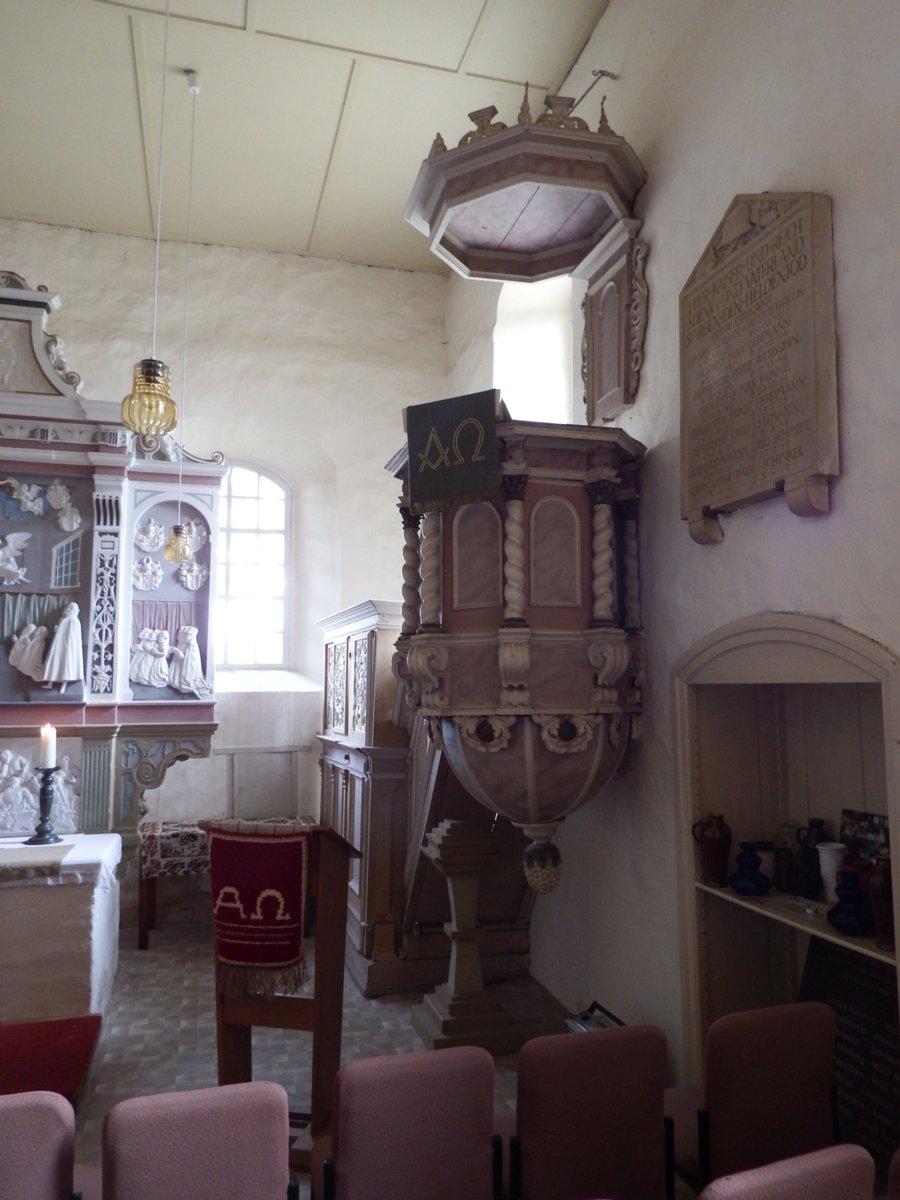 Kanzel Kirche Görsdorf