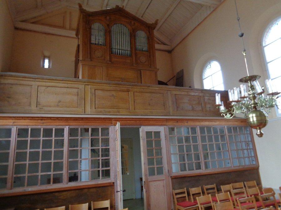 Empore & Orgel Kirche Kemlitz