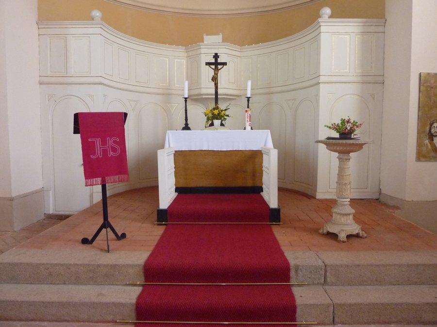 Altar Kirche Kemlitz