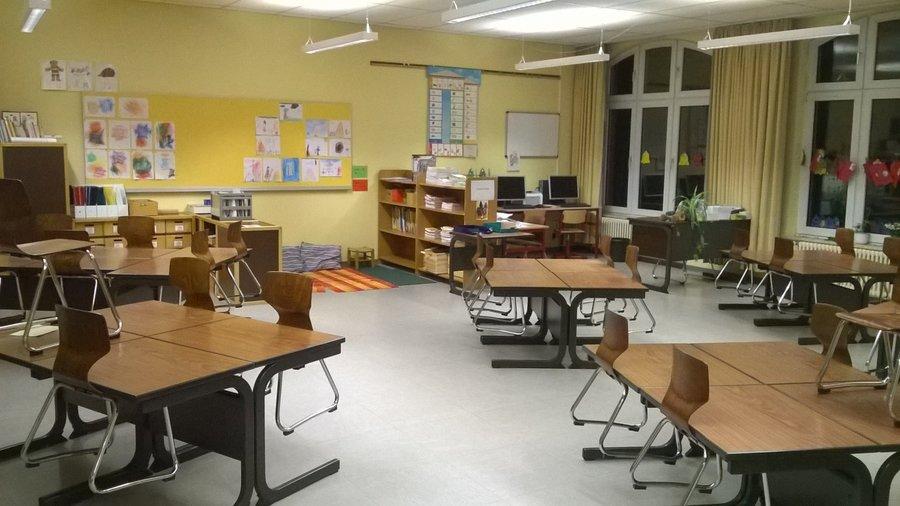 Grundschule St. Antonius Klassenraum