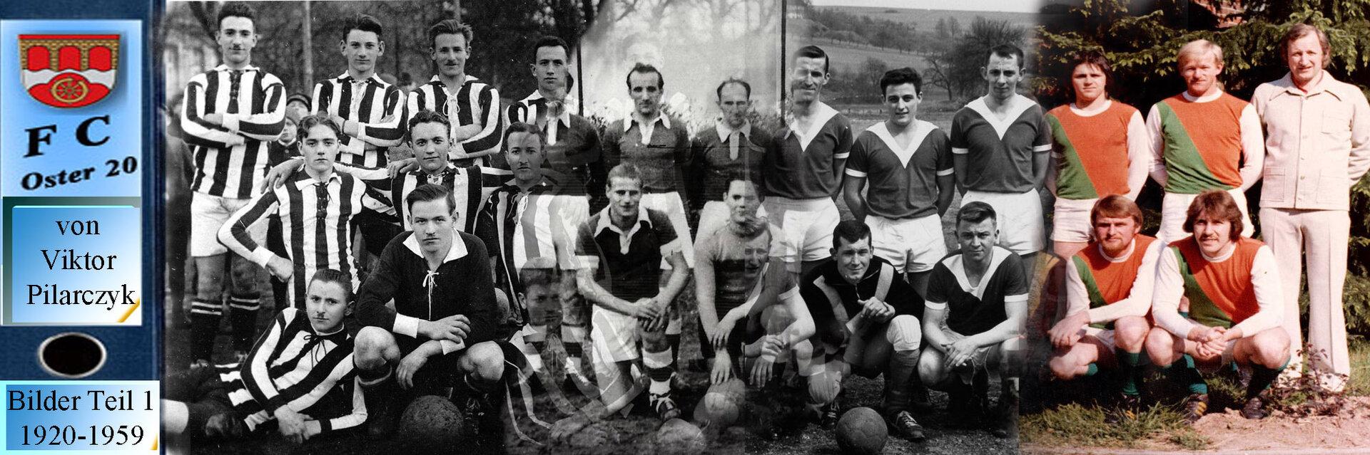 1. Teil 1920 - 1959