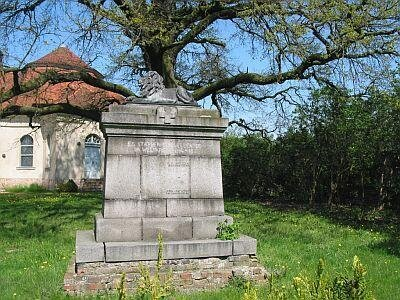 Denkmal Roskow