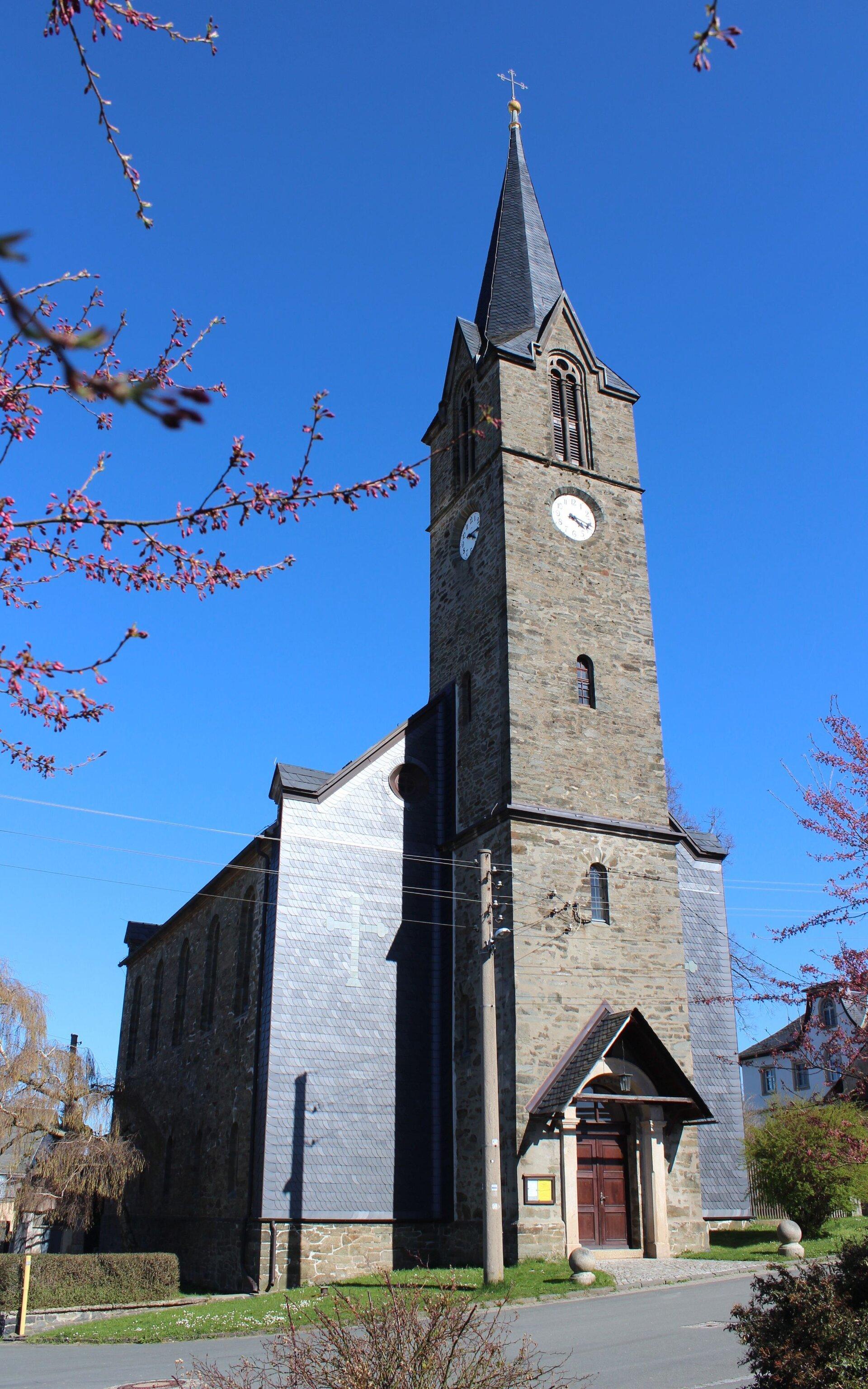 Kirche Blankenberg
