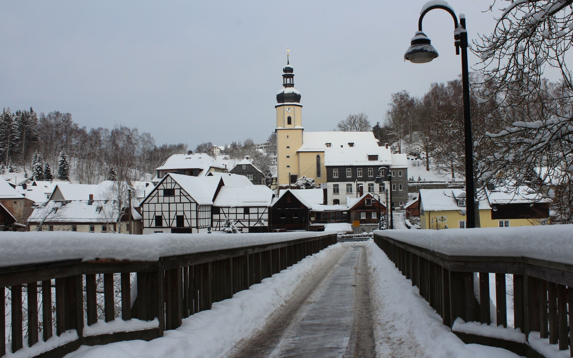Sparnberg Winter
