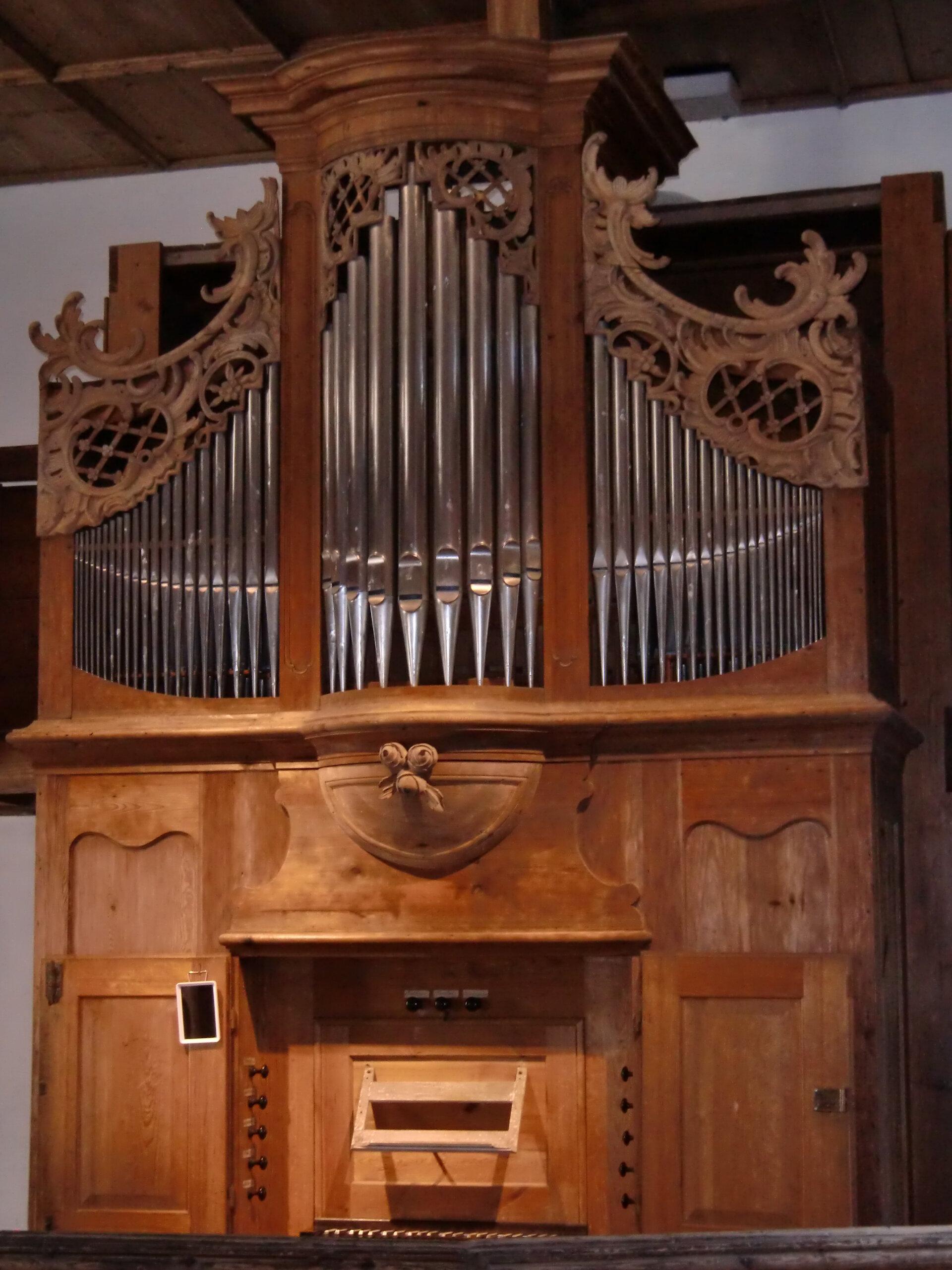 Sparnberg zur Orgel