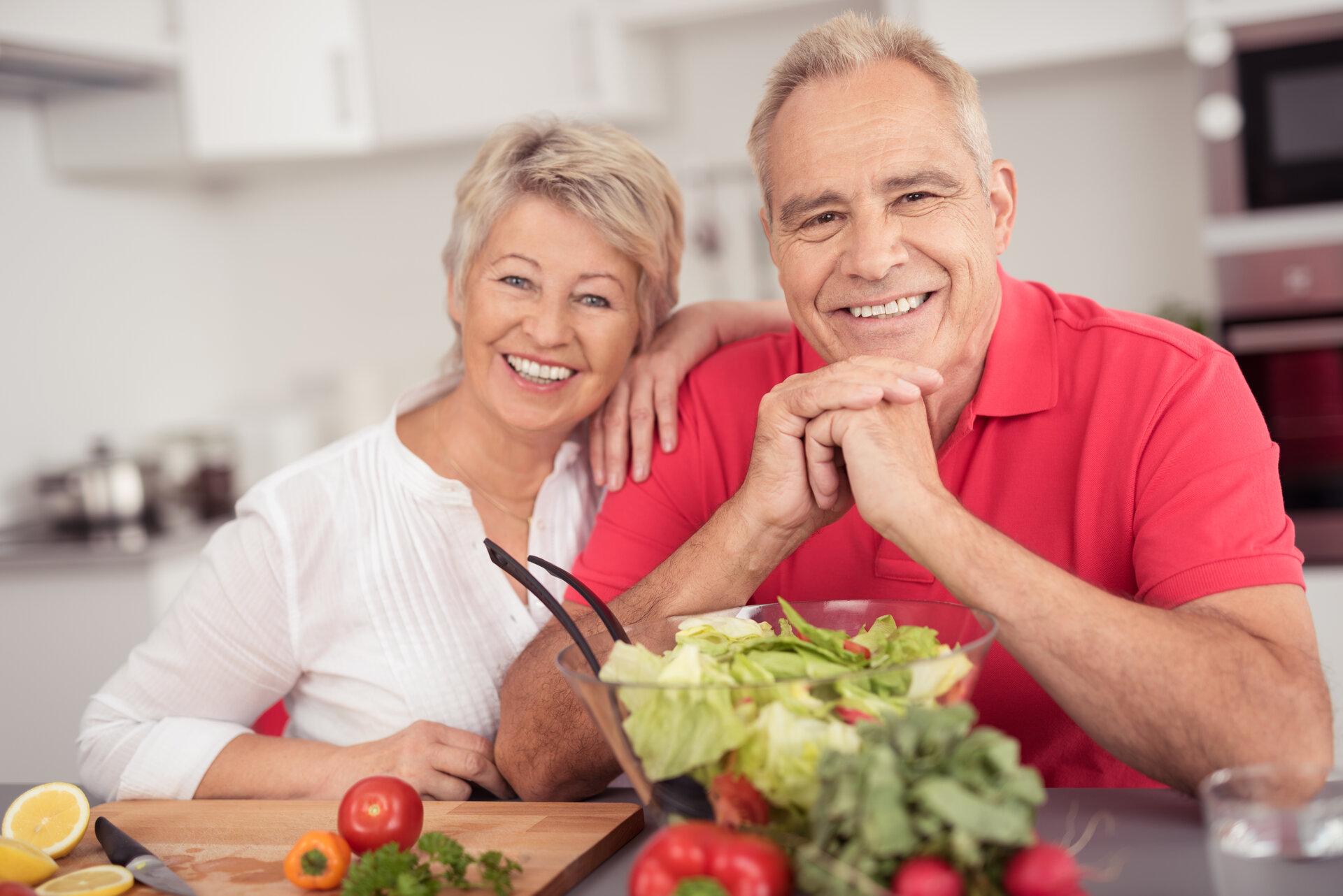 Bildunterschrift- Gesunde und leckere Ernährung