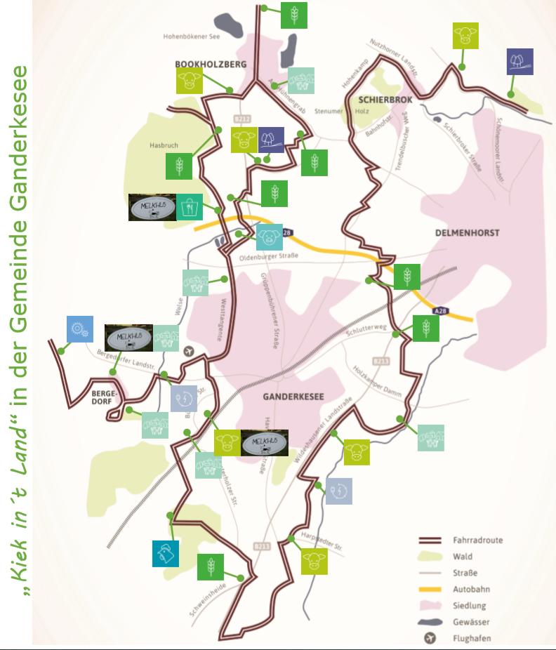 Route - Ganderkesee