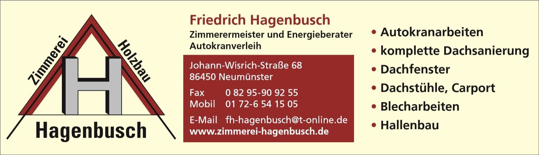 Zimmerei Hagenbusch