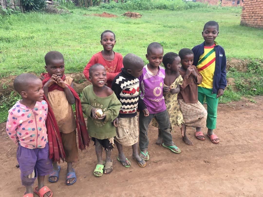 Kinder  der St. Monica Schule in Tansania