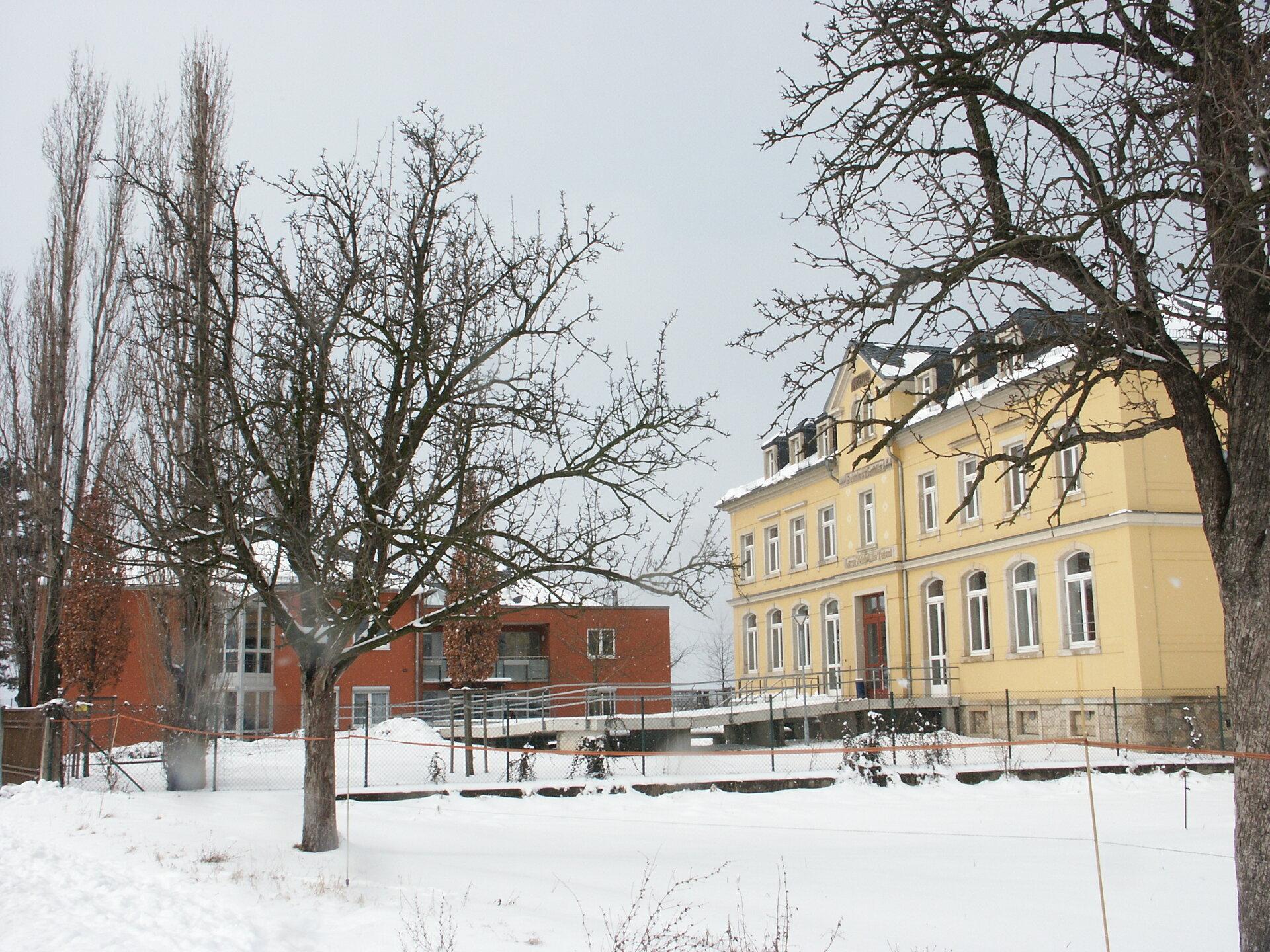Gohlis im Winter