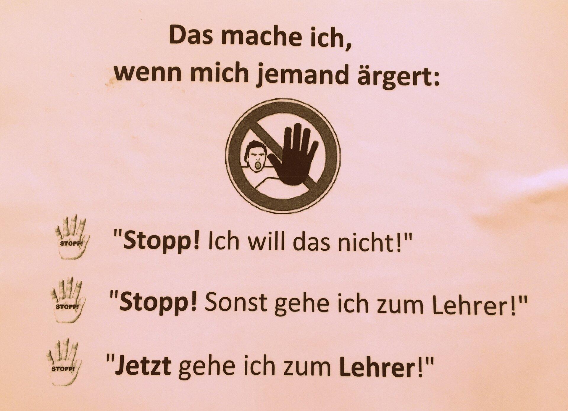 Die Stopp-Regel