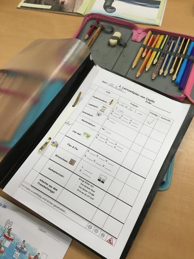 Lernzeitmappe