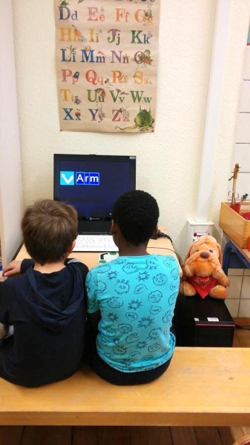 Gemeinsames Lernen am PC