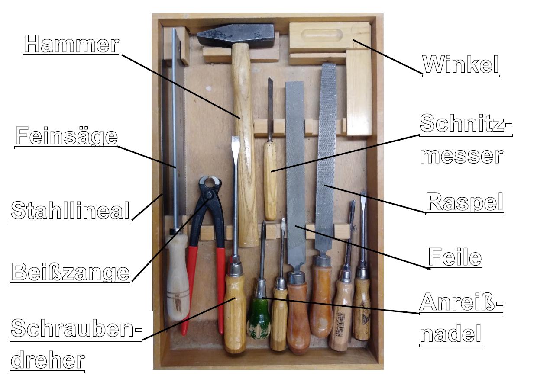 Werkzeugschublade