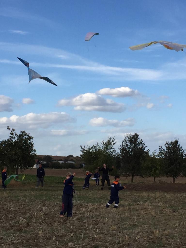 unsere Umwelt in all ihren Facetten erleben, wie hier beim Drachenfliegen