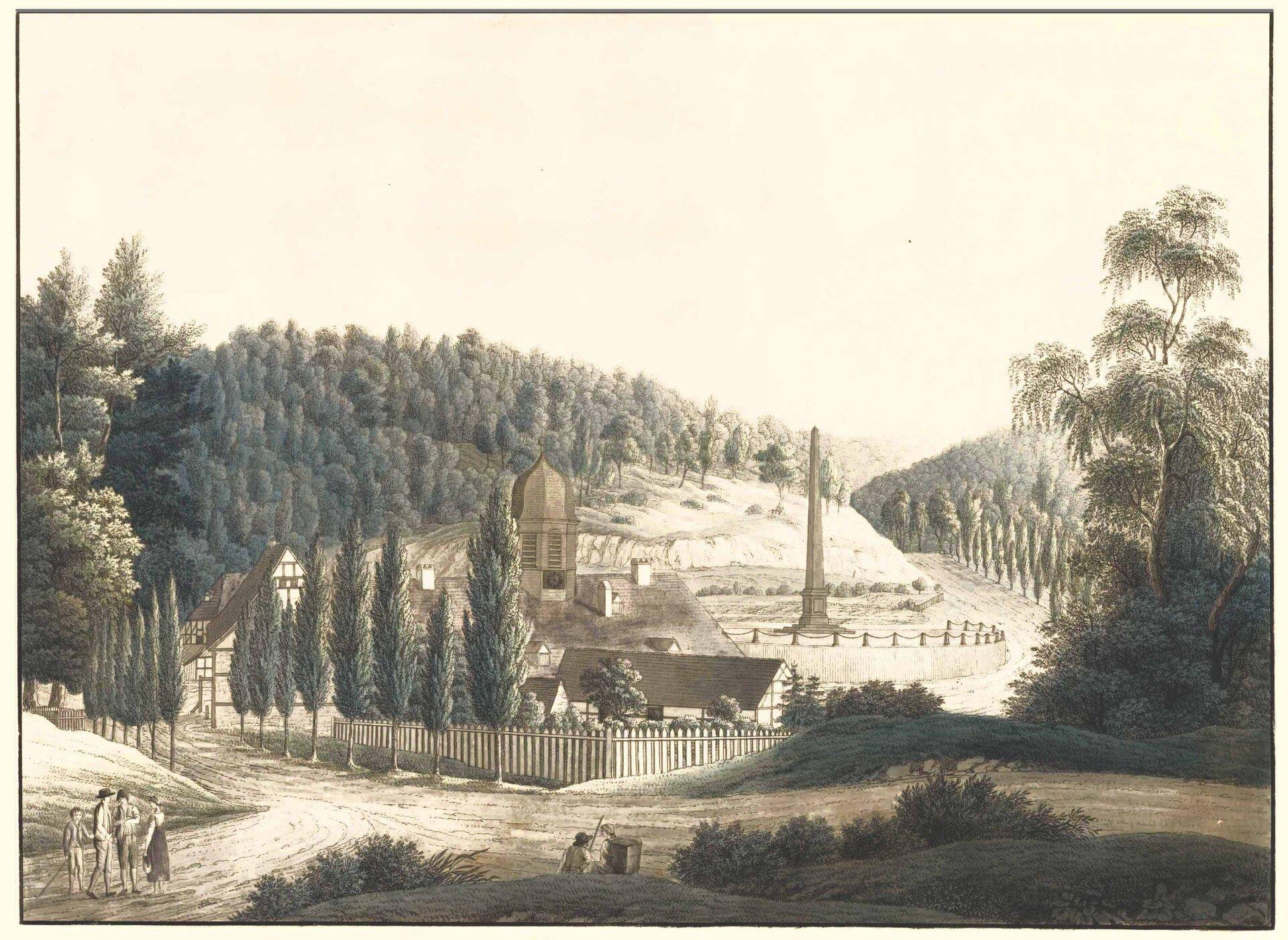 Eisenhütte Mägdsprung 1820