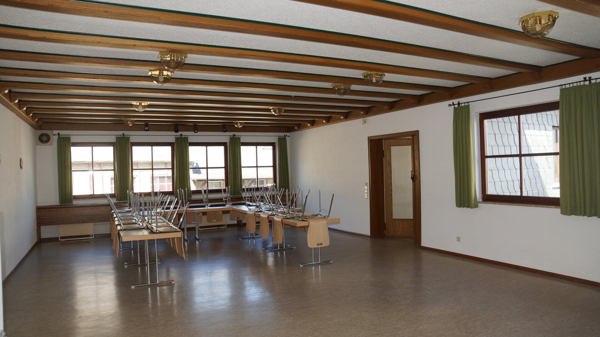 Gemeinschaftsraum (Platz für 60 Personen)