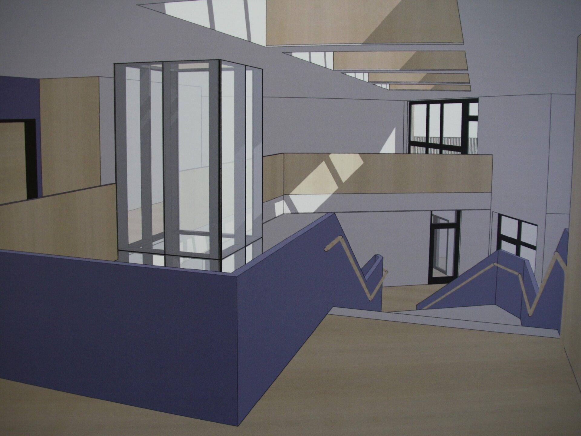 Schule - Foyer