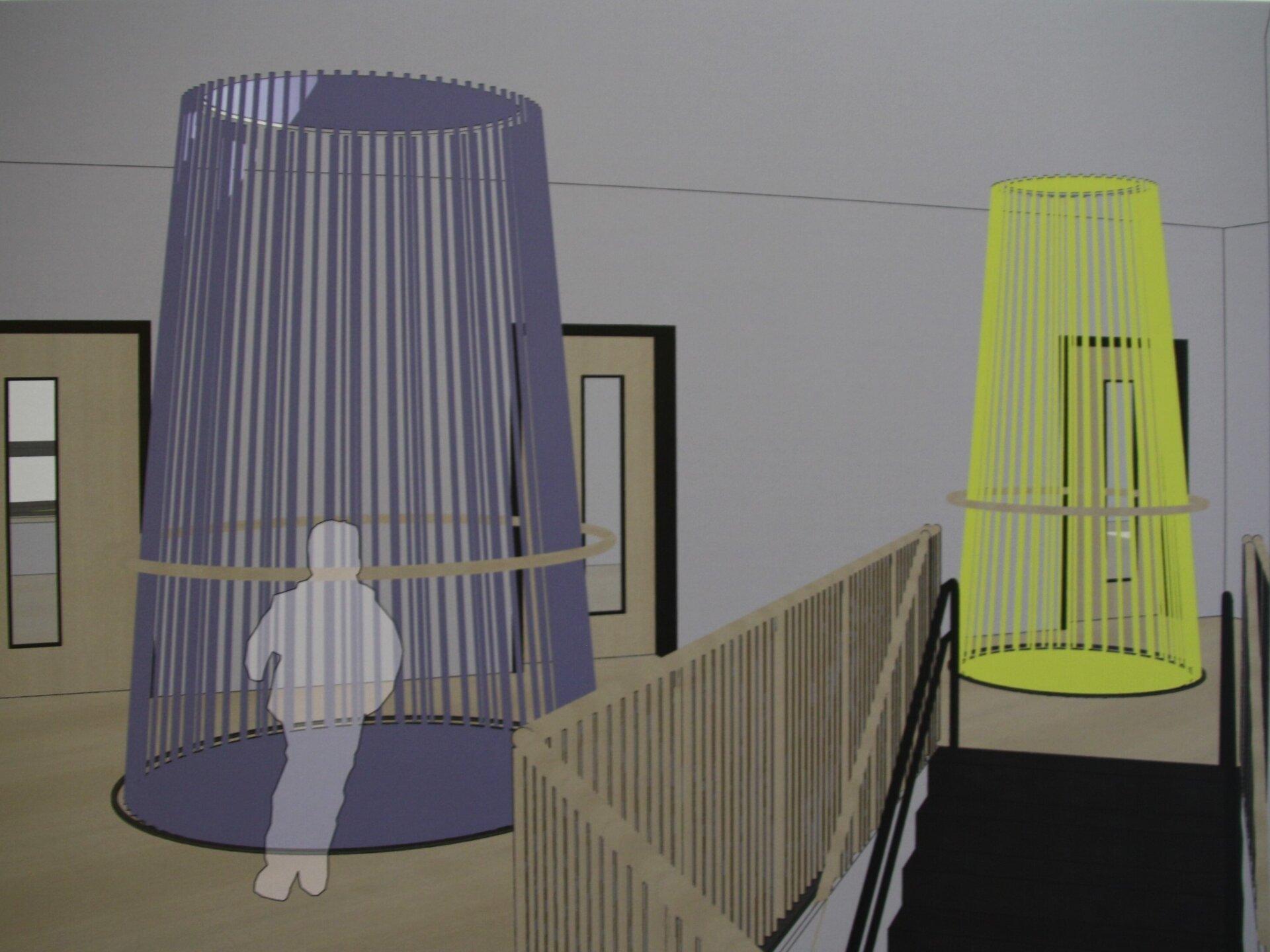 Kita: Spielflur-Lichtturm