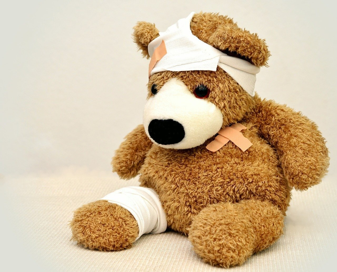 Teddy ist krank