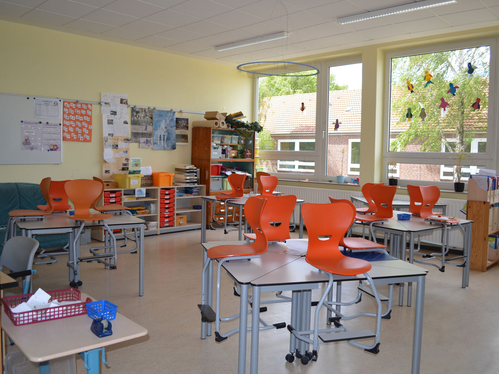 Klassenraum Wölfe