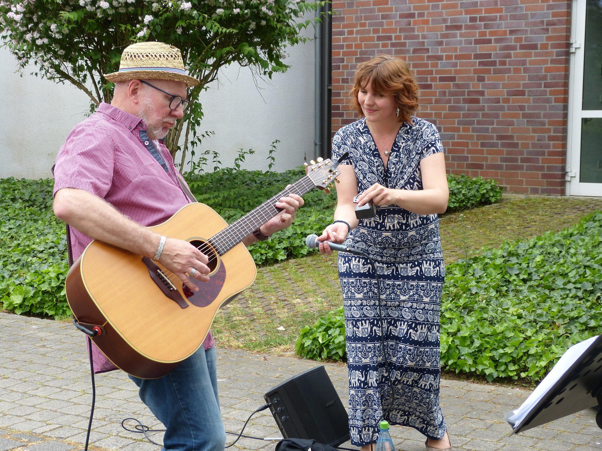 Ann gets rhythm. Foto: Bürgerstiftung WML