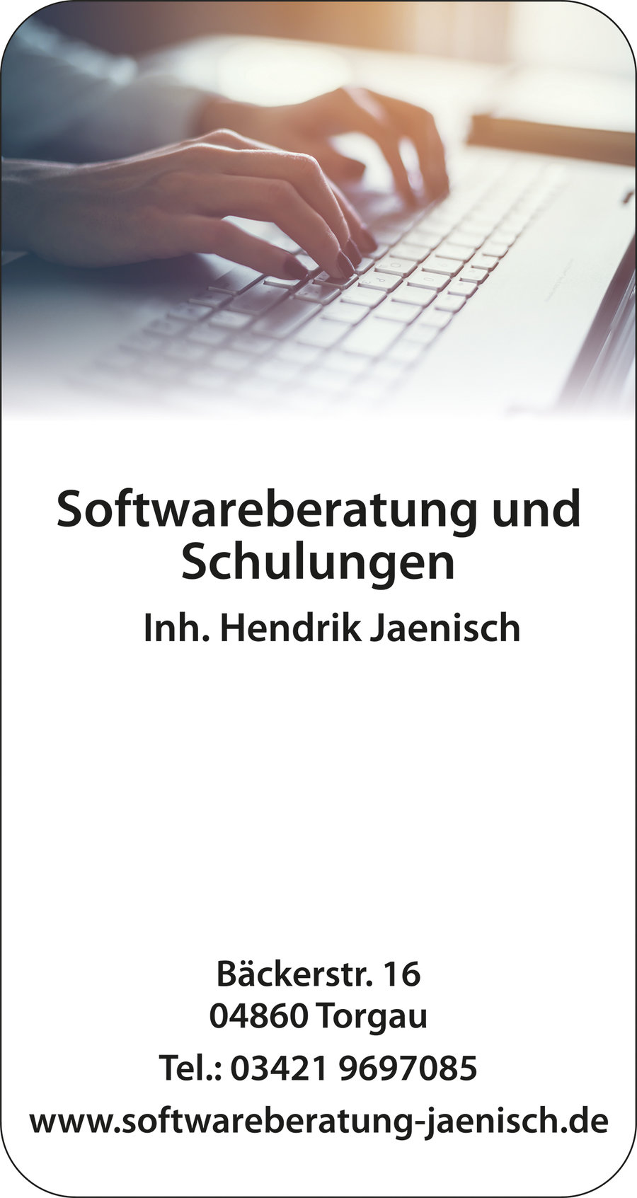 Softwareberatung