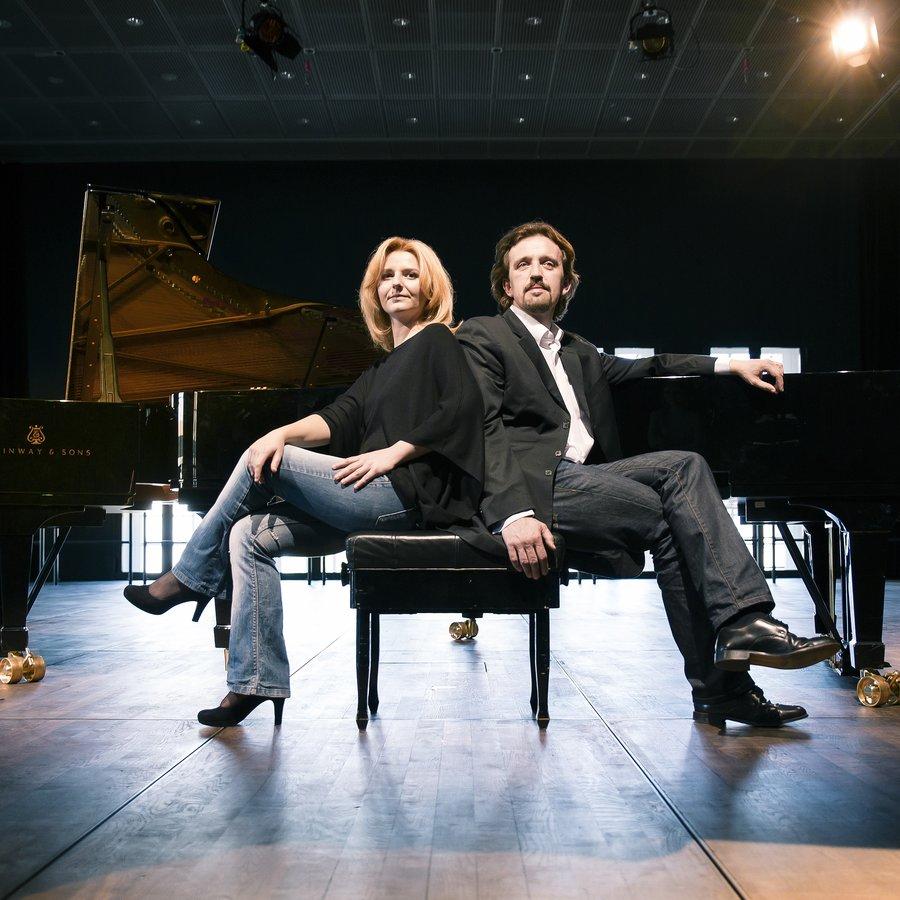 Klavierduo Olha Chipak & Oleksiy Kushnir – Klavier zu vier Händen
