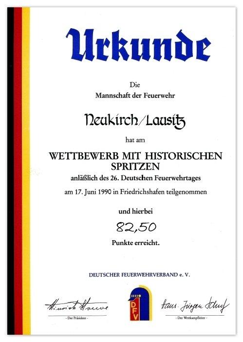 friedrichshafen1990-urkunde