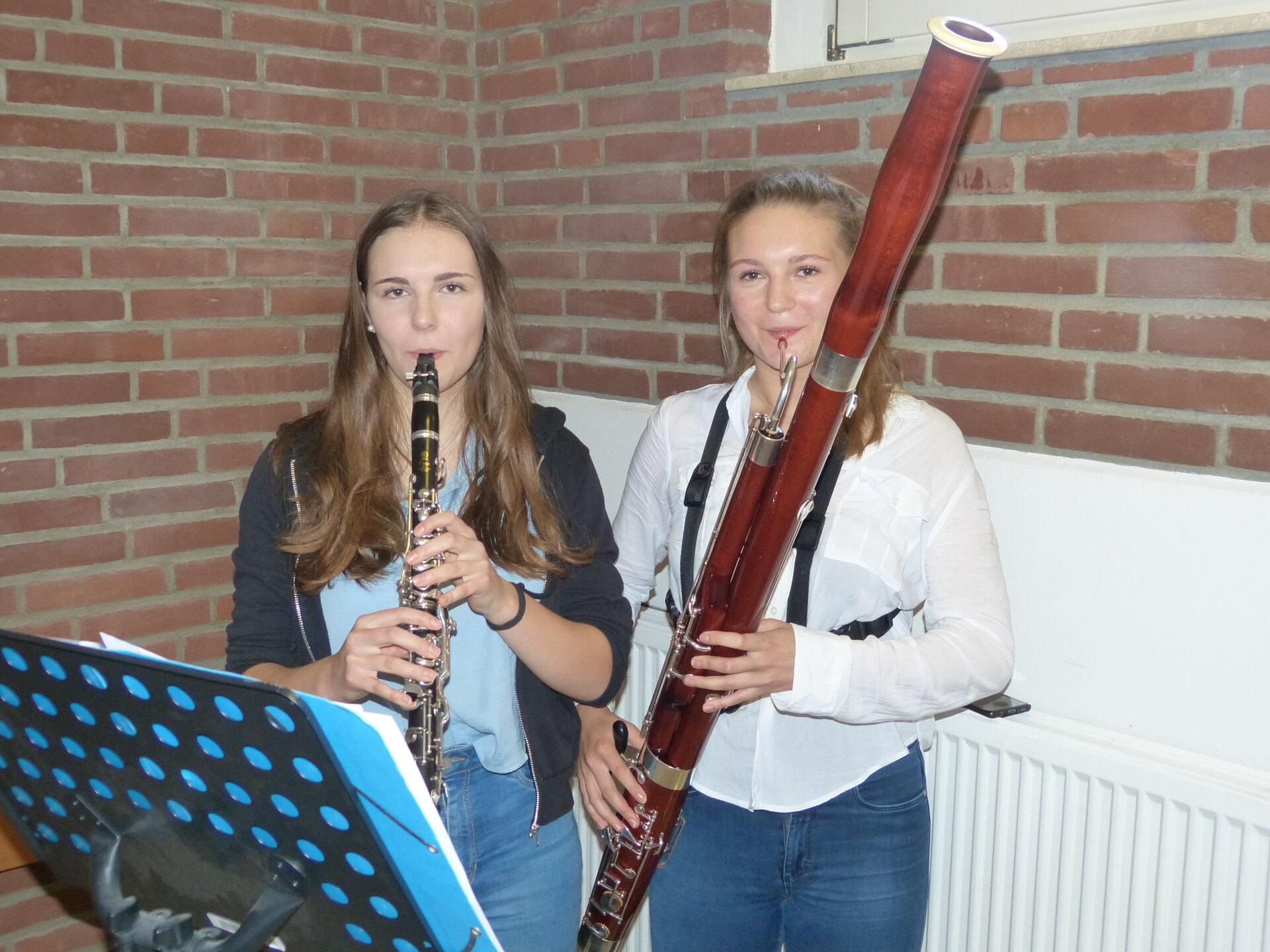 Marietta und Karla Meyering