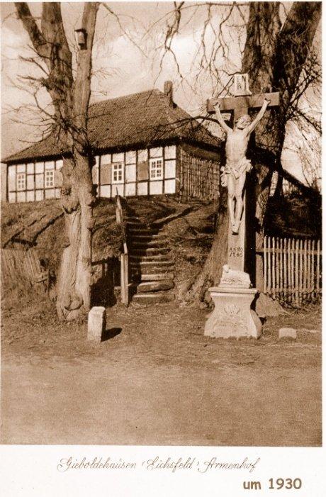Wegekreuz um 1930